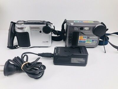 Sony Floppy Disk Digital MAVICA Still Camera MVC-FD73 (Video Hi8 8mm Parts Only)
