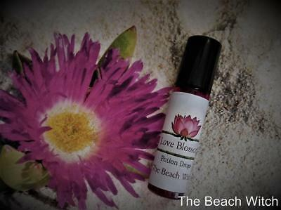 LOVE BLOSSOM Potion Roll-On Anointing Oil Fragrance Spell Oil Witchcraft Wicca
