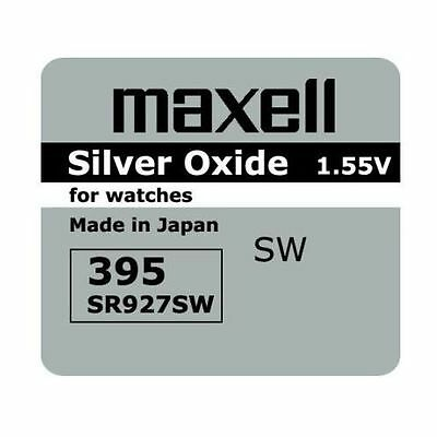 2 NEW SR927SW 395 Silver Oxide 1.55V Watch Battery Made in Japan FREE SHIPPING