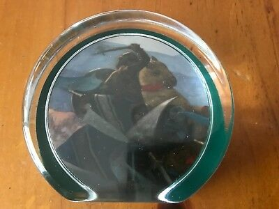 St. Cuthman Creative Arts - Paperweight made exclusively for The Fleming's cmpy
