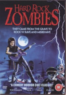 E.J. Curcio, Geno Andrews-Hard Rock Zombies  DVD NEW