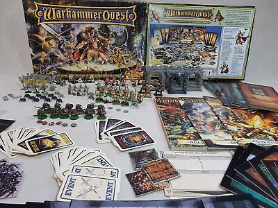 Warhammer Quest board game 100% complete, painted [ENG, 1995]