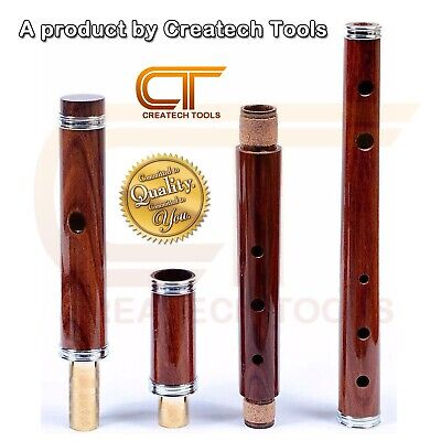 Traditional Irish Wooden Flute D Rosewood with Wood Case Brand of CreatechTools