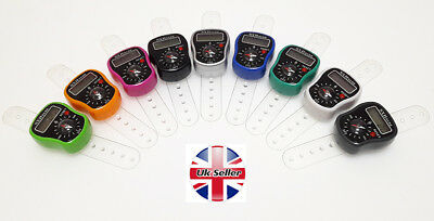 Digit Hand Finger Tally Counter with compass  For Tasbee ,Golf, School & Spot