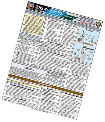2015 International Residential Code® (IRC) Quick-Card Pamphlet