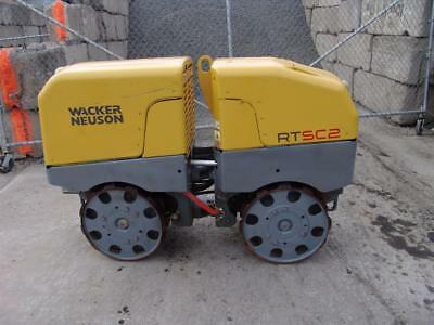 2013 Wacker Neuson Rtsc2 Trench Roller Compactor  295 Hours Works Great