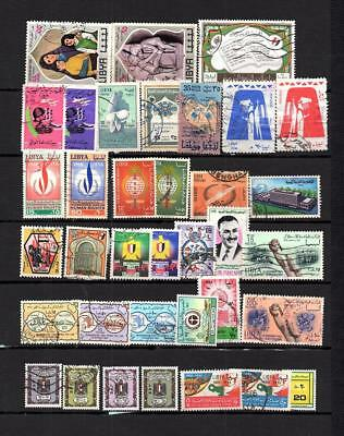 Libya - Italian  Colonies - Selection Of Postally Used Stamps  Lot (Lyb 86 )