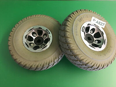 Invacare Pronto Sure Step M51 Wheels & tires  3.00-4 Solid Foam Filled   #A827