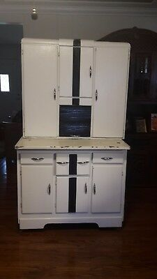 Antique Hoosier Cabinet. Early 1900u0027s. Marsh Furniture Company ...