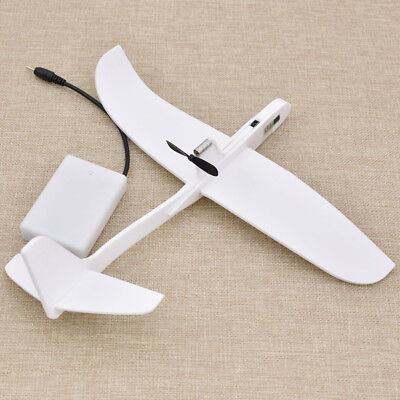 Model Airplane Capacitor Electric Throwing Free-flying Glider Kids Toys 1 Pc