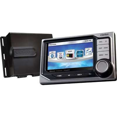 Clarion Black Box Digital Media Receiver with IPX7 Display #CMS5