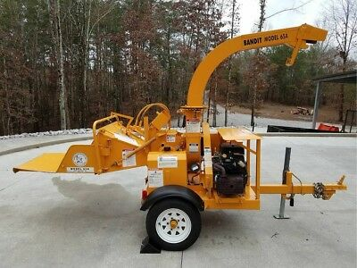Wood Chipper, Brush Bandit Model 65A, Private Owner, 142 hours,No Commercial Use