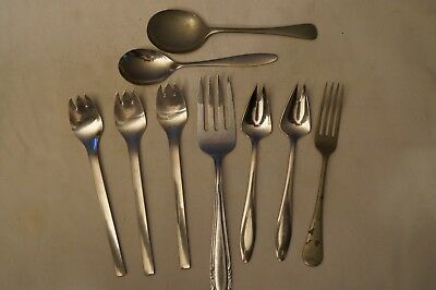 Collectable - Vintage - Group Lot of 9 - Various Tableware