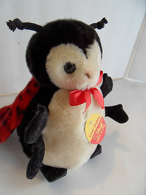 Steiff bug beetle fly red all Ids  Germany 1704