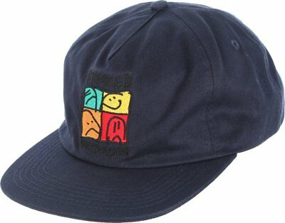 Krooked Cap KD Ultra Dark Navy Unstructured Snapback Skateboard Hat