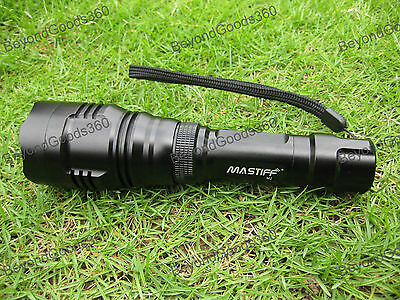 Mastiff M2 5 Watt 940 nm Infrared Radiation IR Night Vision LED Flashlight Torch