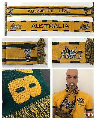 Socceroos Australia Scarf Limited Edition for Russia 2018