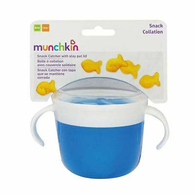 Munchkin Baby Kid Snack Container with Twist-On, Stay Put Lid - Assorted Colours