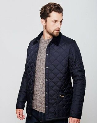 Barbour Men's Heritage Liddesdale Jacket Navy - Medium