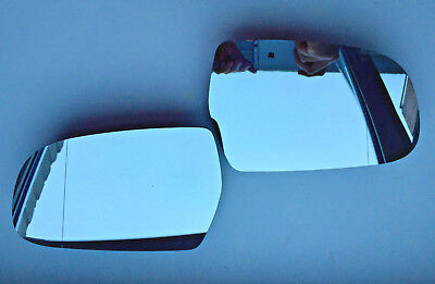 Pair of Volvo V40 S80 2012-2016 side wing Heated Door Mirror Glass Backing Plate