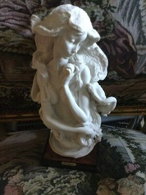 GIUSEPPE ARMANI Limited White  Bust of Eve Sculpture