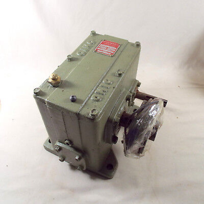 Ohio Gear Box 150 to 1 Ratio Speed Reducer D 3 Gearbox Code 43374