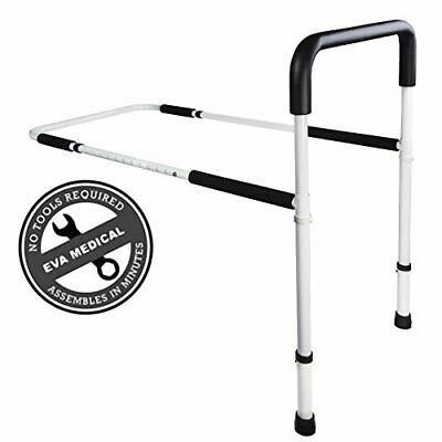 Medical Adjustable Home Bed Rail Handle & Hand Guard Assist Bar for Adults an...
