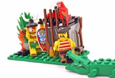 1994 LEGO Pirates Islanders Crocodile Cage (6246) COMPLETE (no box)