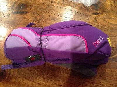 New w/ Tags Head Mittens Purple Pink Dupont Sorona Insulated Girls Age 4-6 Years