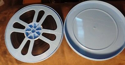 Super 8 Home Movie Film Taylor Blue Reel, Large 400 Foot Size, Untitled, Mystery