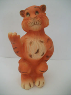 Vintage 1960's Humble Oil Esso Promotional Advertising Tiger Coin Bank