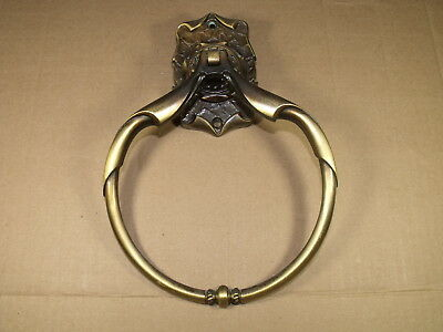 Amerock Carriage House Vintage Wall Mount Towel Ring Holder Antique Brass  #2