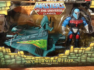 Masters Of The Universe Sky High With Jet Sled Club Action Figure w/Mailer Box M
