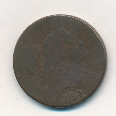 "1794 Flowing Hair Large Cent-Head Under ""r""-Nice Circulated Cent-Ships Free!"
