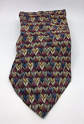 Cocktail Collection Tie Vodka Tonic 100% Silk Made in USA Multi-Color   A21