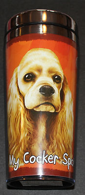 Cocker Spaniel Dog Stainless Steel Insulated Travel Tumbler Thermos