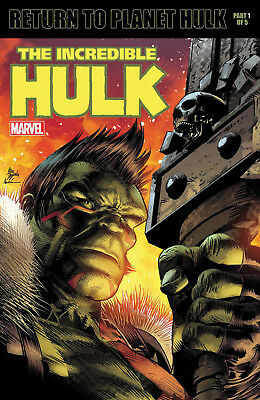 INCREDIBLE HULK #709 DEODATO LENTICULAR VARIANT Legacy Marvel Comics NM 2017