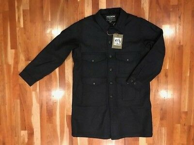 NEW WITH TAGS FILSON MADE IN USA LIMITED MACKINAW WOOL LONG CRUISER Large $595