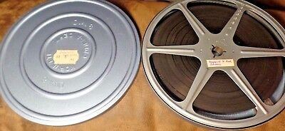 Vintage Super 8 Home Movie Film Reel, Vacation Trip, Longwood and Busch Gardens