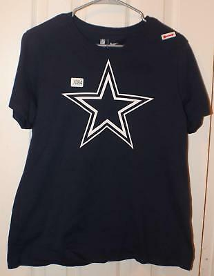 0084 Dallas Cowboys Tee Shirt Blue W/Star on Front The NIKE Tee XL Youth