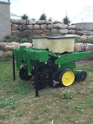 2 row 3pt corn soybean pumpkin planter john deere