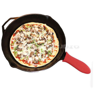 Silicone Hot Handle Holder Pot Holder Cast Iron Skillets Sleeve Cover Grip