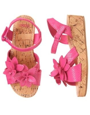 NWT Gymboree Jungle Brights Flower Espadrille Wedge Sandals Shoes Girl many size