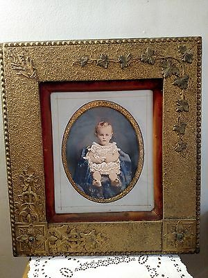 Antique Victorian Ornate Gold with Gilt Picture Frame 16 x 20