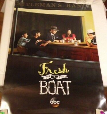 Fresh Off The Boat promotional Poster ABC Television  27 x 40 excellent