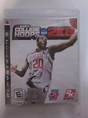 College Hoops 2K8 (Sony PlayStation 3, 2007)