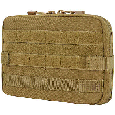 1c394f816f Condor Tactical Versatile T T Pouch Map Notebook Case MOLLE Airsoft Coyote  Brown