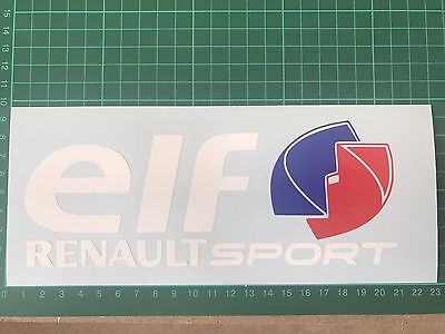 ELF Sticker Renault Sport Clio Megane 225 Turbo F1 182 172 Cup Decal 200mm