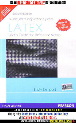 *FAST SHIP* - Latex: A Document Preparation System, 1E by Leslie Lam