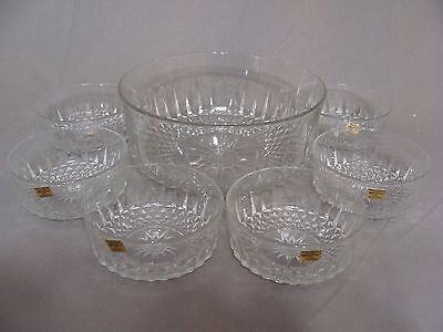 1 Large Bowl & 6 Small Bowls, Diamant By Arcoroc USA